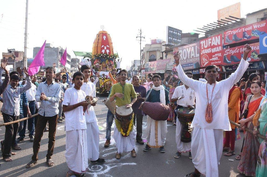 ISKCON Aurangabad Jagannath Rath Yatra January 2018 4