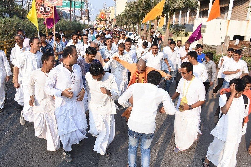 ISKCON Aurangabad Jagannath Rath Yatra January 2018 18