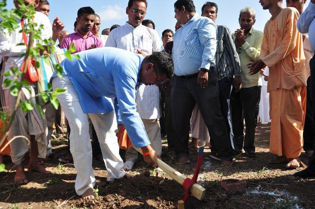 iskcon vecc temple aurangabad construction start 35