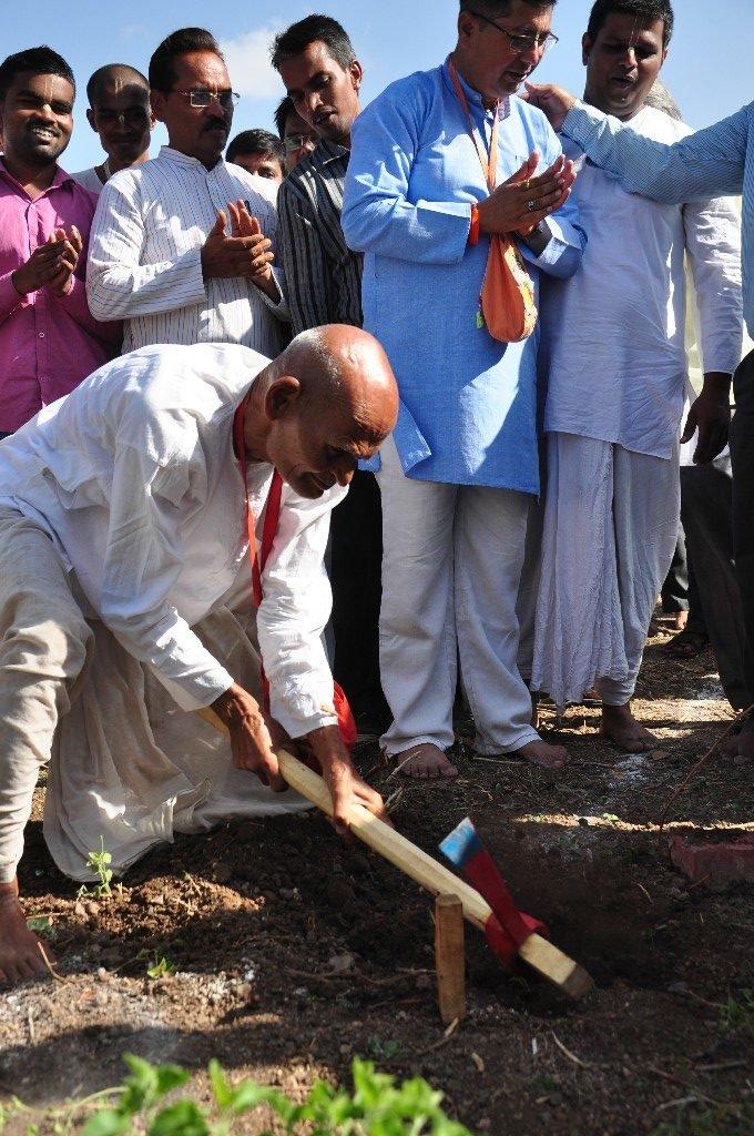 iskcon vecc temple aurangabad construction start 33