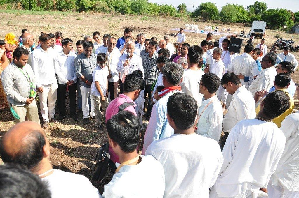 iskcon vecc temple aurangabad construction start 29