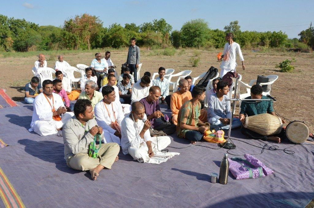 iskcon vecc temple aurangabad construction start 22