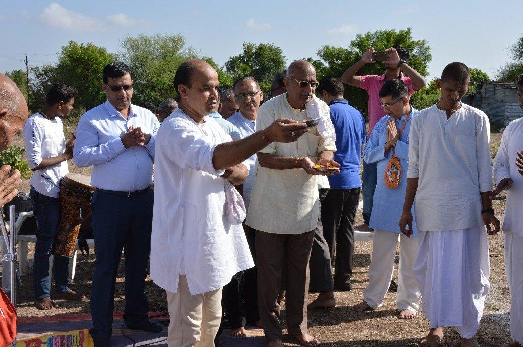 iskcon vecc temple aurangabad construction start 10
