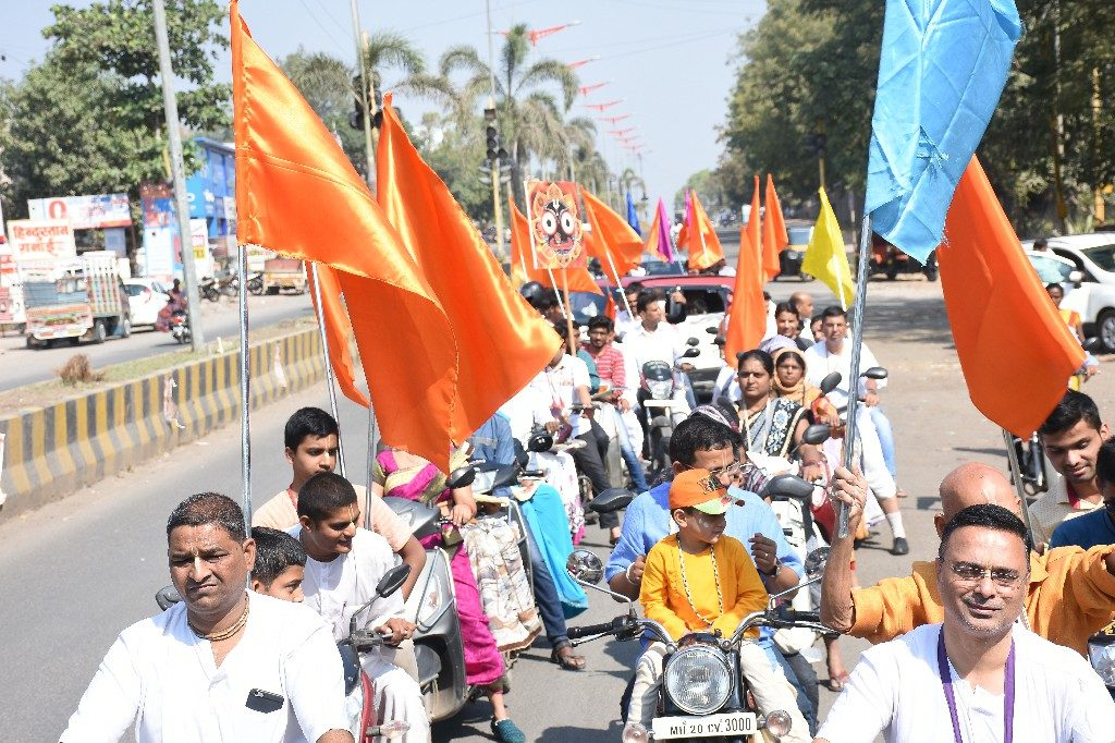 ISKCON AURANGABAD BIKE RALLY NOVEMBER 25 2018 21