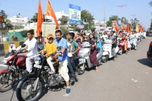 ISKCON AURANGABAD BIKE RALLY NOVEMBER 25 2018 09
