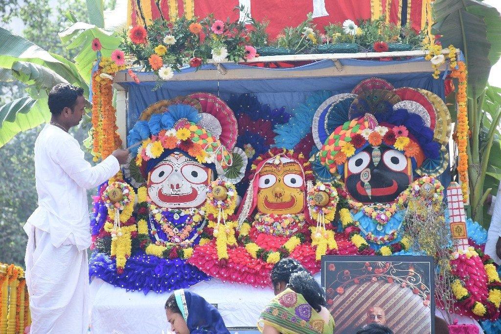 ISKCON Aurangabad Jagannath Rath Yatra December 2018 3