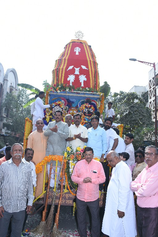 ISKCON Aurangabad Jagannath Rath Yatra December 2018 5