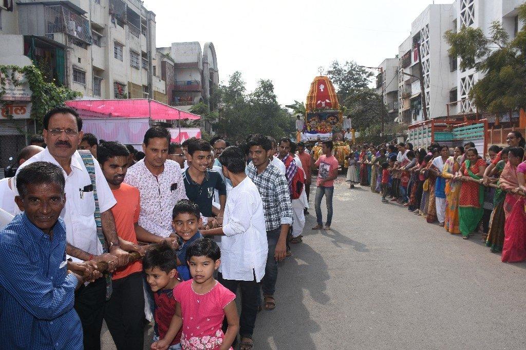 ISKCON Aurangabad Jagannath Rath Yatra December 2018 8