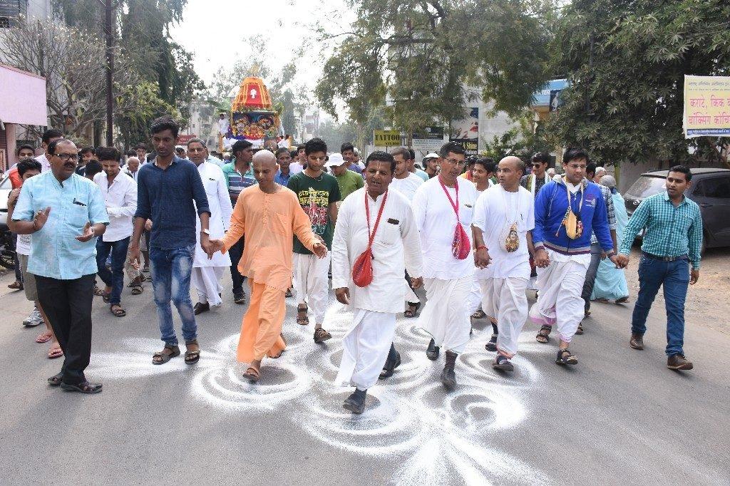 ISKCON Aurangabad Jagannath Rath Yatra December 2018 9