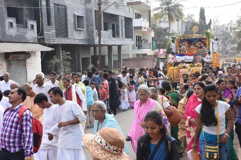 ISKCON Aurangabad Jagannath Rath Yatra December 2018 10