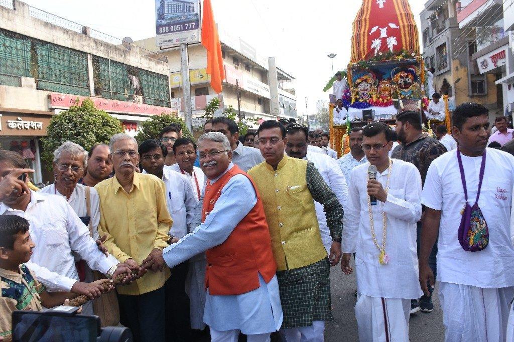 ISKCON Aurangabad Jagannath Rath Yatra December 2018 21