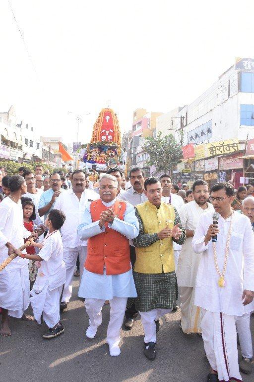 ISKCON Aurangabad Jagannath Rath Yatra December 2018 23