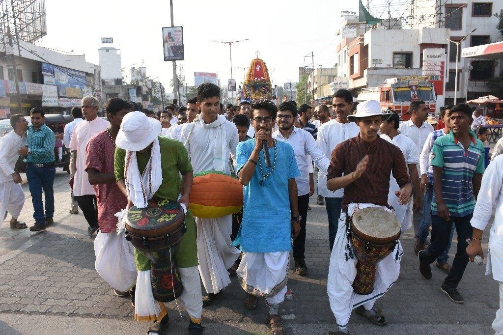 ISKCON Aurangabad Jagannath Rath Yatra December 2018 30