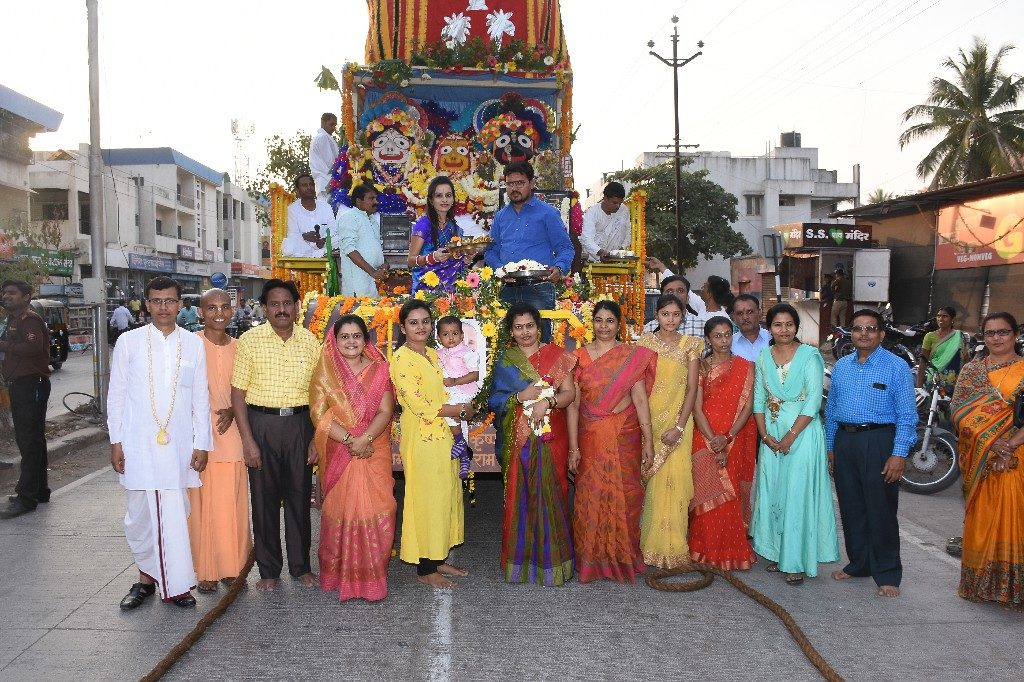 ISKCON Aurangabad Jagannath Rath Yatra December 2018 36