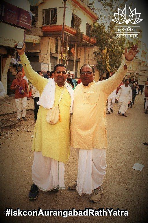 iskcon aurangabad rath yatra festival january 2019 20