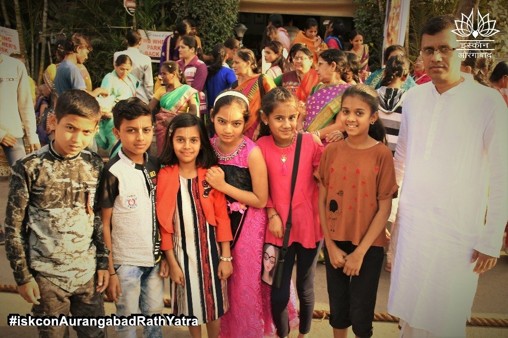 iskcon aurangabad rath yatra festival january 2019 27