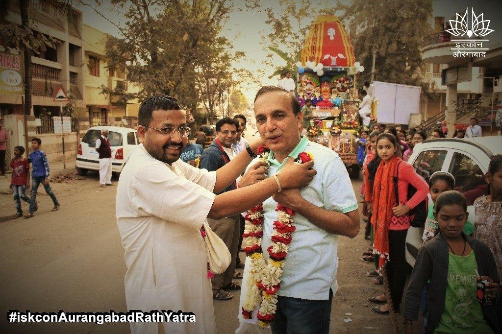iskcon aurangabad rath yatra festival january 2019 29