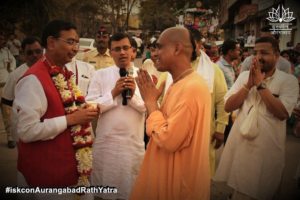 iskcon aurangabad rath yatra festival january 2019 30