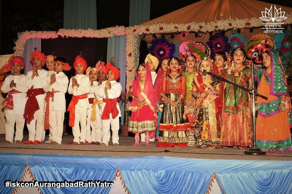 iskcon aurangabad rath yatra festival january 2019 41