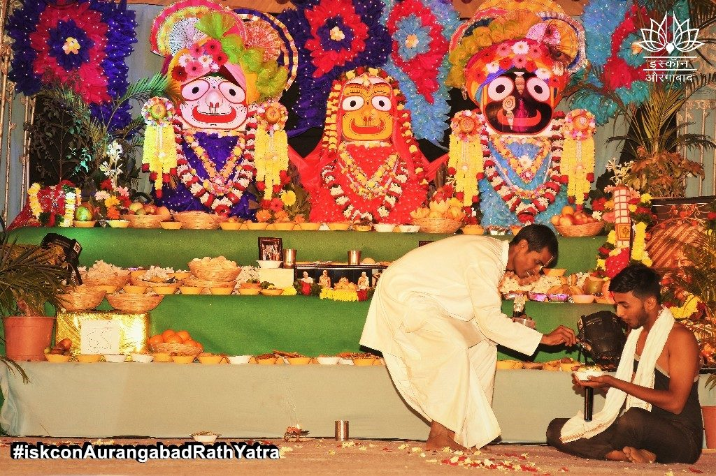 iskcon aurangabad rath yatra festival january 2019 37