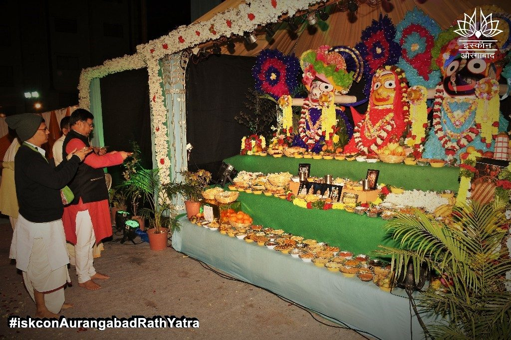 iskcon aurangabad rath yatra festival january 2019 3