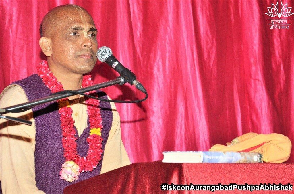 ISKCON Aurangabad Pushpa Abhishek Festival 2019 12